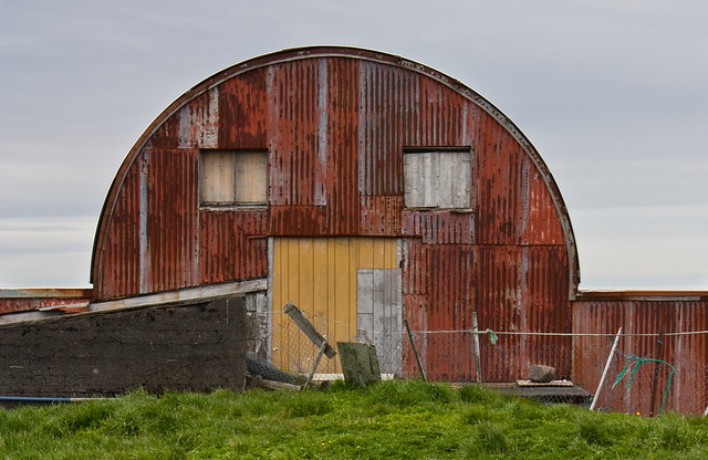 Photo:Barn with face By:Isoflow
