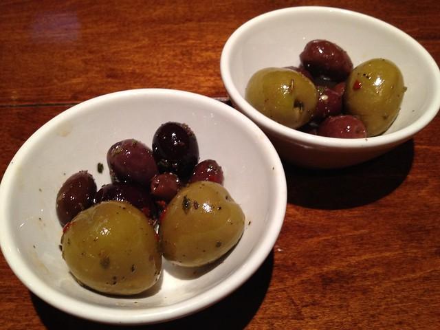 Marinated olives Firewood Cafe