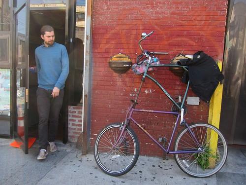 Tall bike surprise