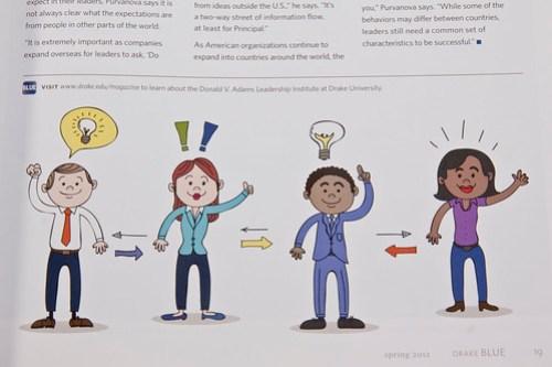 Leadership Illustrated by Drew Albinson Creative