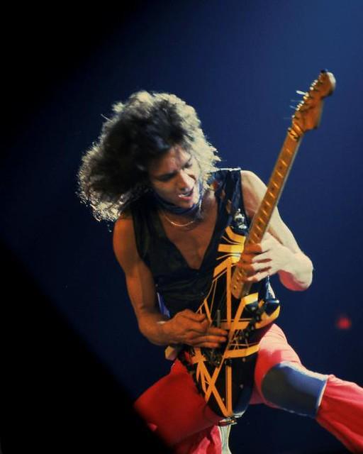 The VH2 Bumblebee Guitar Is In Full Swing On Van Halen II