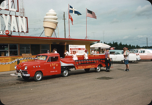 Paul Bunyan Fire Dept - 1956