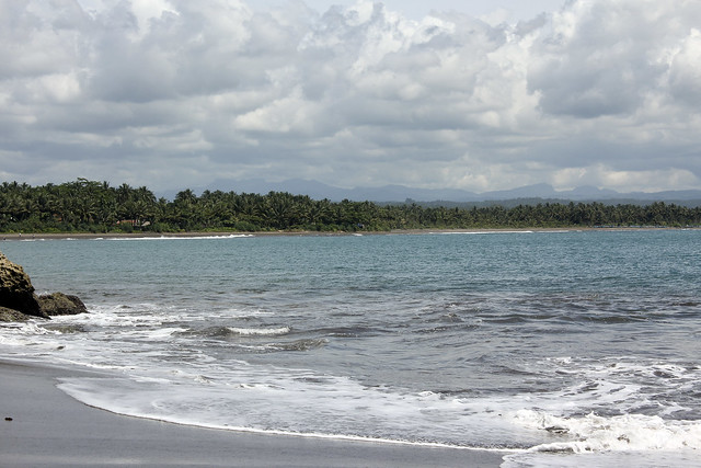 the two main beaches