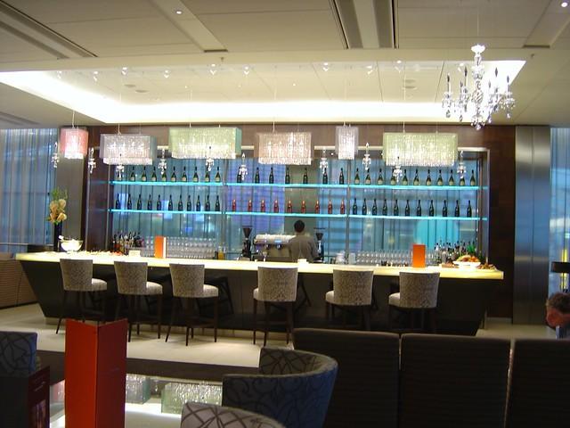 British Airways Concorde First Class Lounge Heathrow Terminal 5