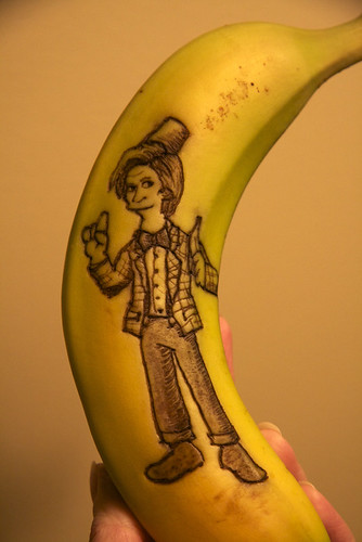 I carry a banana now. Bananas are cool.