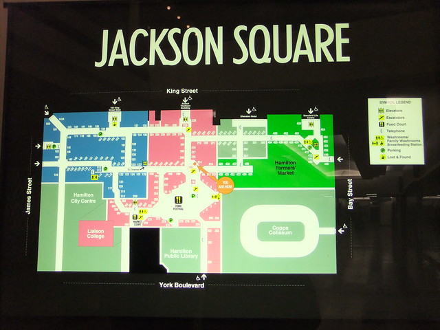 Greenwood Park Mall Map