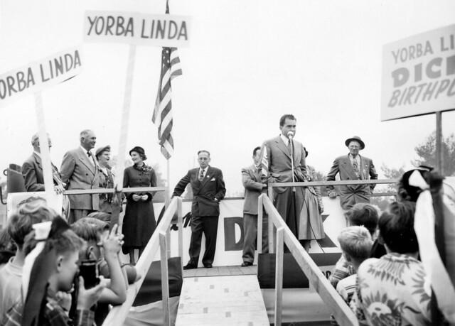 Richard Nixon Yorba Linda Map