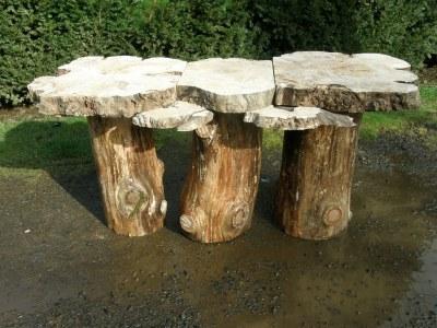 mushroom wedding table