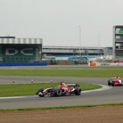 McLaren, Toro Rosso and Midland are battling it out in a test session.