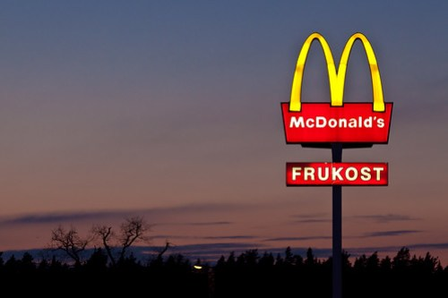 McDonald's sunset