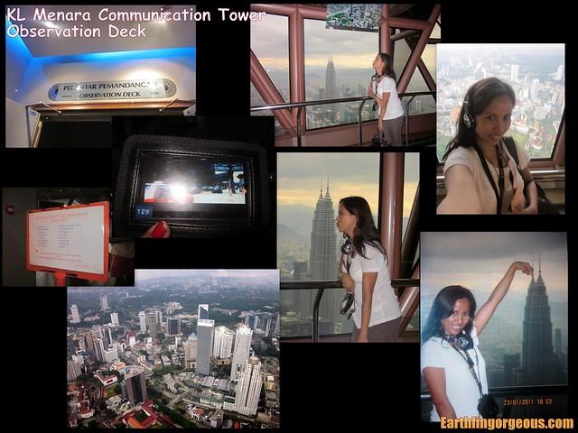 inside KL Communication Tower