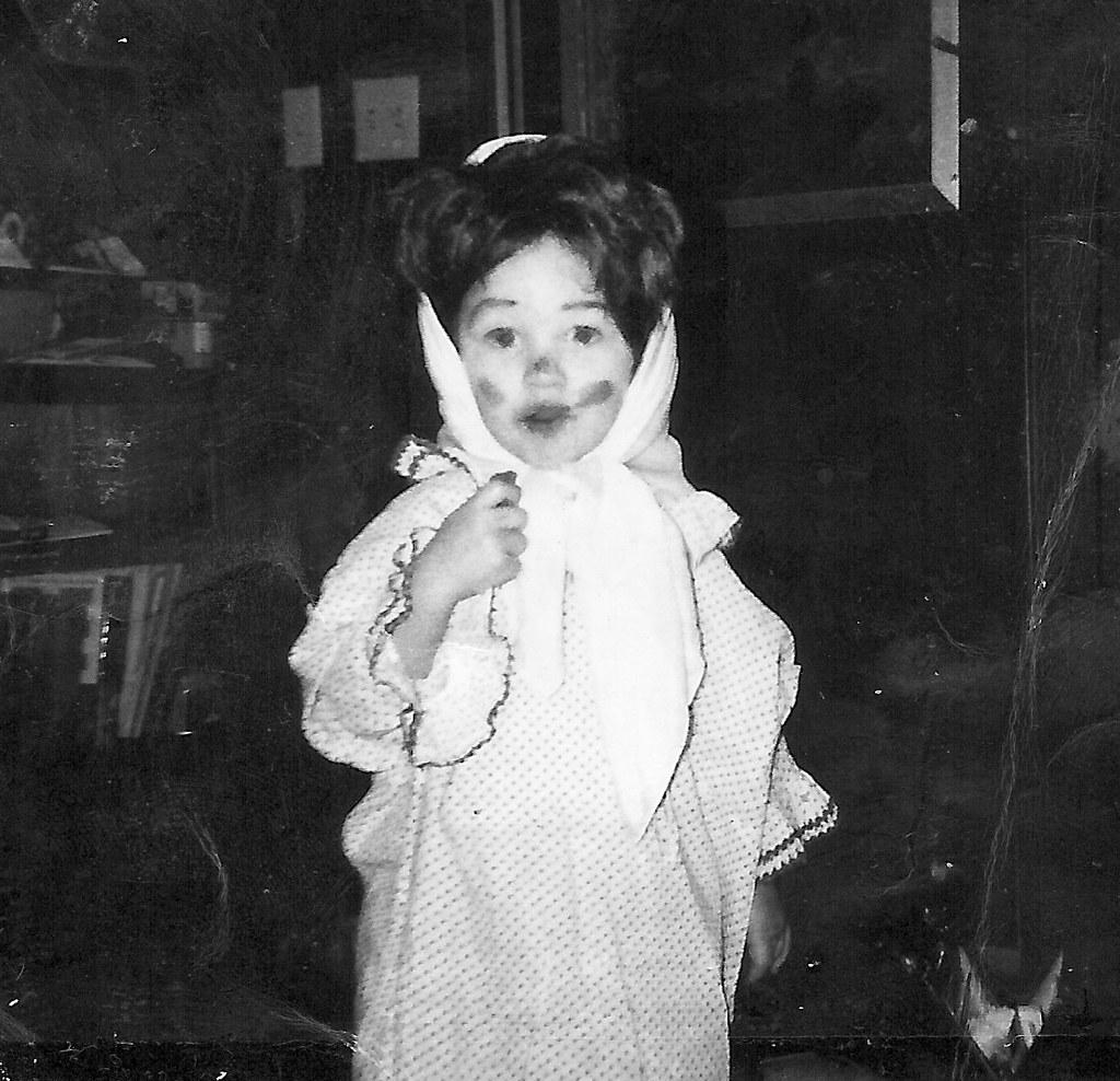 Me in Halloween Drag - 1969