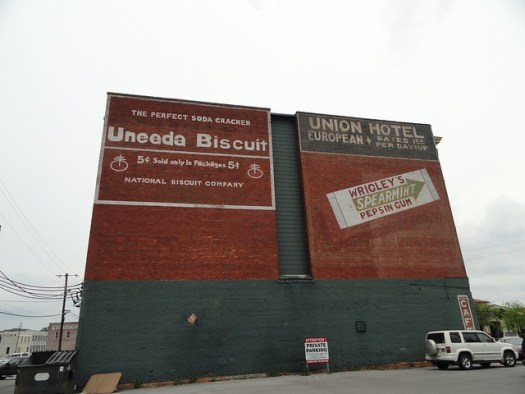 Uneeda Biscuit Sign, Meridian MS