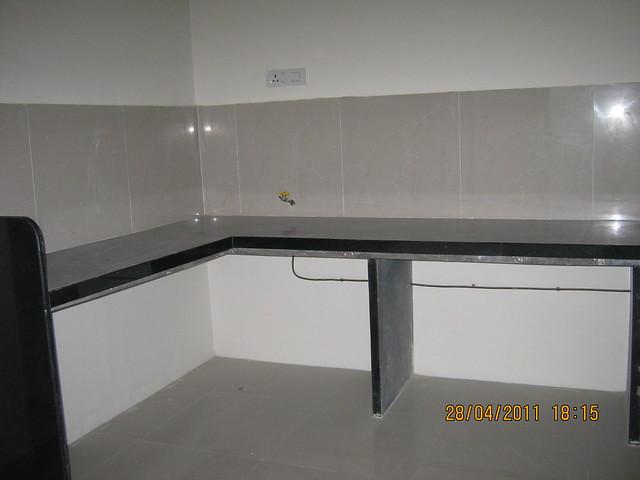 L Shaped Kitchen Platform