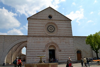 Basilica of St. Clare in Assisi, Umbria - Italy