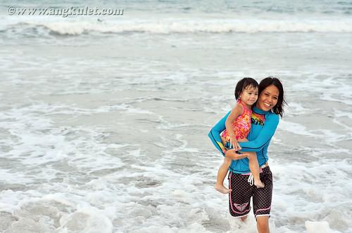 Lia in Bagasbas, Daet, Camarines Norte 04.16.11