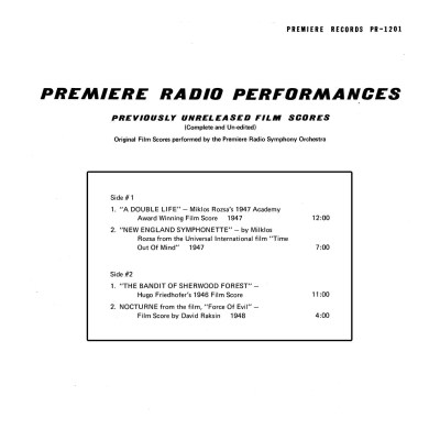 Various Artists - Premiere Radio Performances b