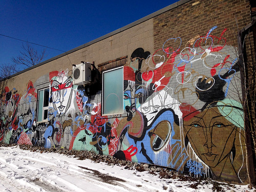 Toronto graffiti & street art