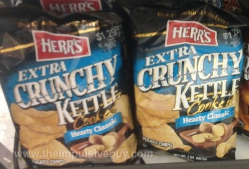 Herr's Extra Crunchy Kettle Cooked Hearty Classic