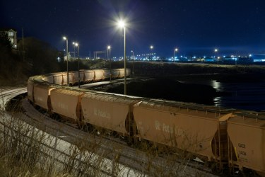 Saint John : Potash Trains on Crown Street