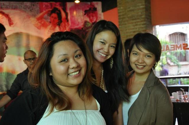 Marianne, Ericke and Tricia