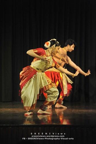 Bharatanatyam - Parvathy and Shijit by Vasu..