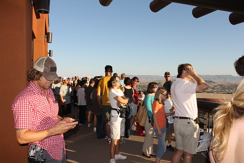 Eclipse Party, St. George Utah, May 20, 2012