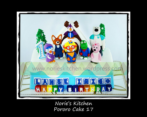 Norie's Kitchen - Pororo Cake 17 by Norie's Kitchen