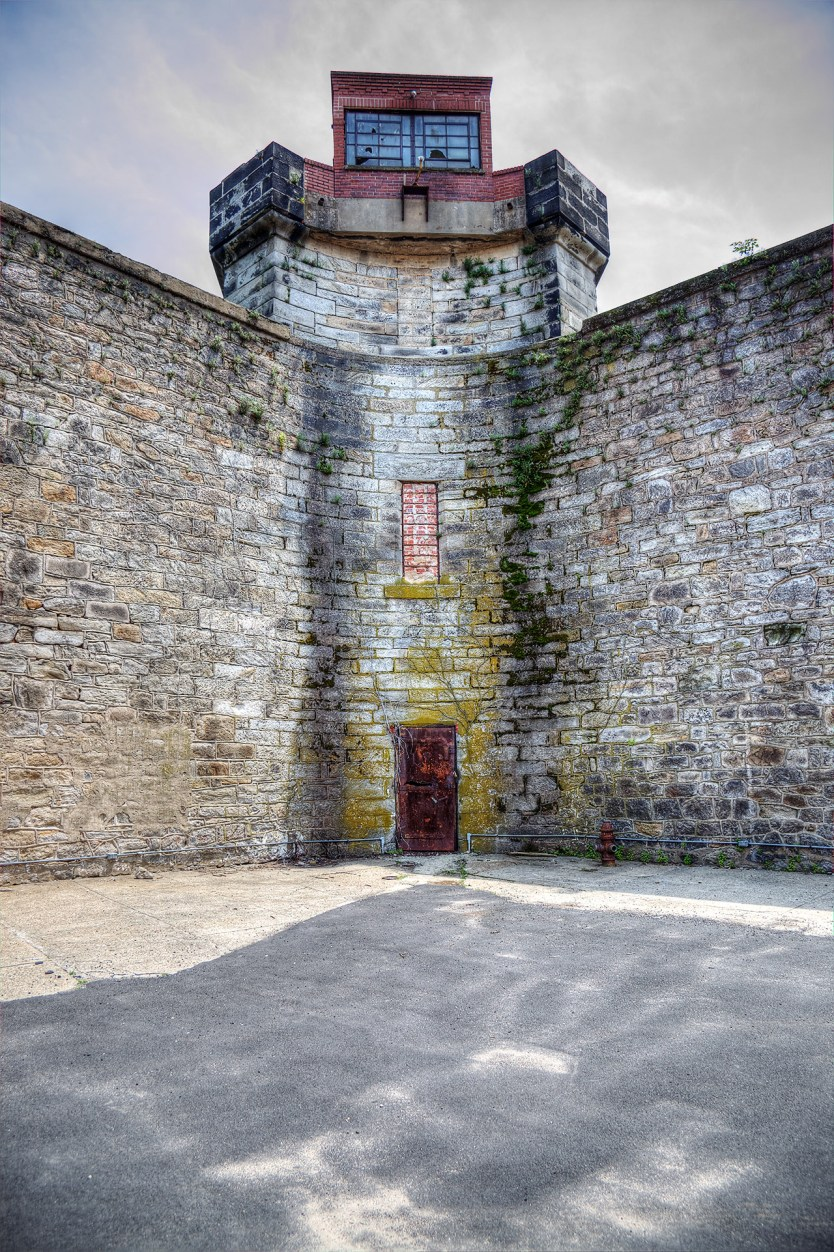 Guard tower, Eastern State Penitentiary.