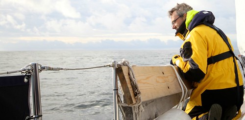 Skipperen speider etter hval