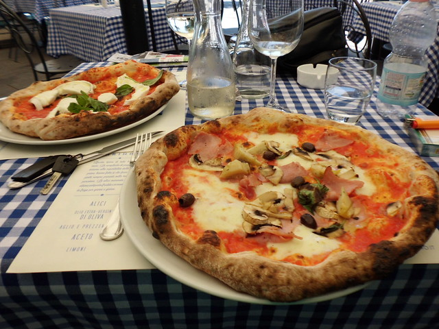 Pizza in Trieste
