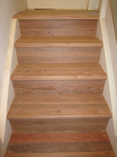 The rest of the stairs