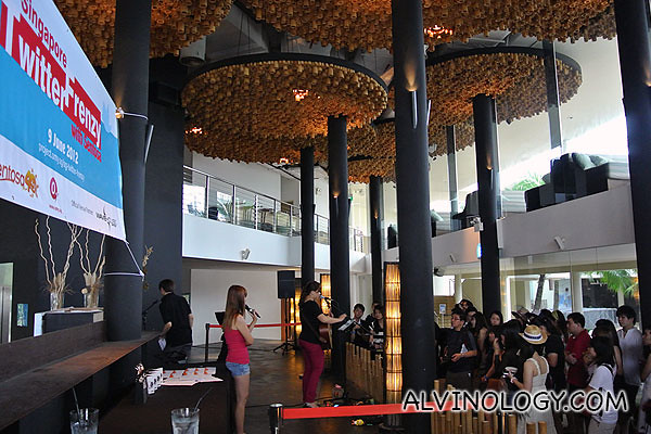 Singapore Twitter Frenzy award ceremony @ Wavehouse, Sentosa