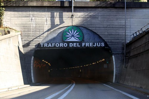 The Frejus Tunnel, France