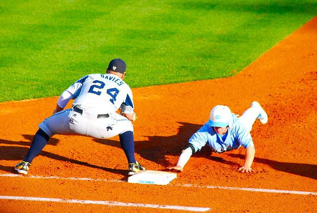 baseball: ga tech @ unc, game 1