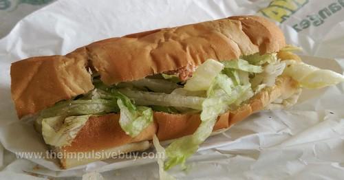 Subway Atlantic Canada Lobster Sandwich