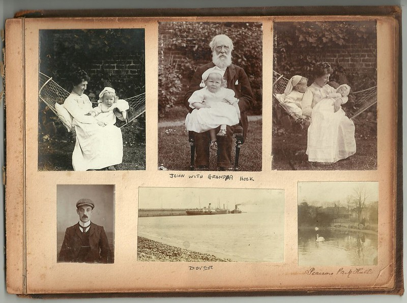 Hook Edwardian Family Album page #38
