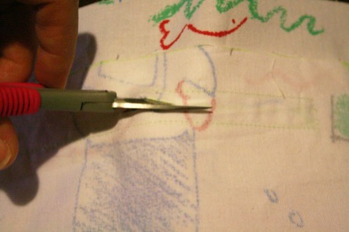 How to sew a welt pocket with zipper / Hoe naai je een paspelzak met rits