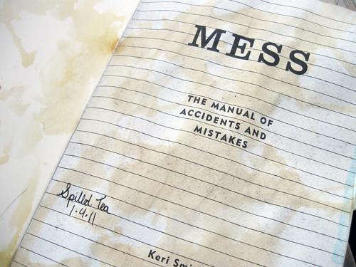 Mess: Inside Cover