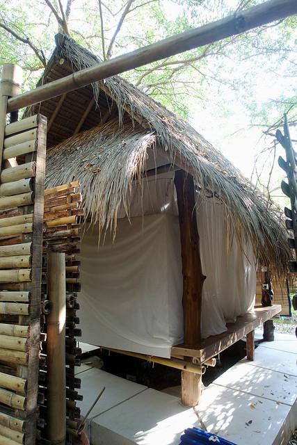Our Gili Meno accommodations.