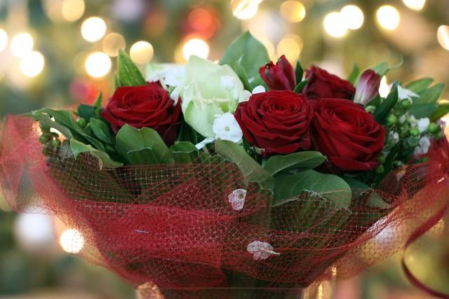 D356/365 20th Wedding Anniversary Bouquet + Bokeh