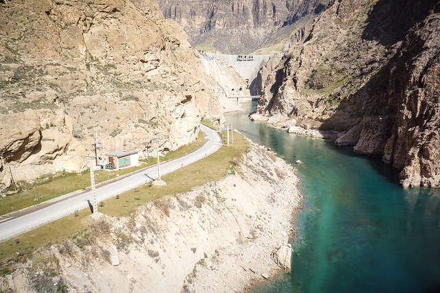 Karun 4 Dam & water