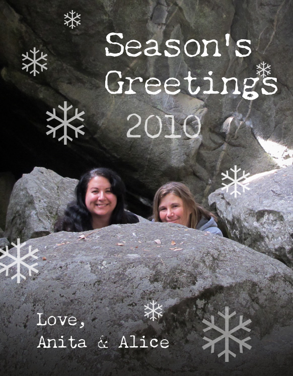 Day 359 / 365 - Season's Greetings holiday pic