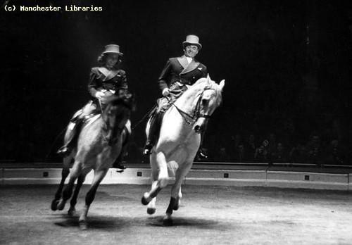 Horse Riders Belle Vue Circus, 1951