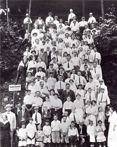 1906 Appalachian Club Members, Smokey Mountains Tennessee