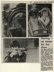 1981 press cutting of Bridgend Show