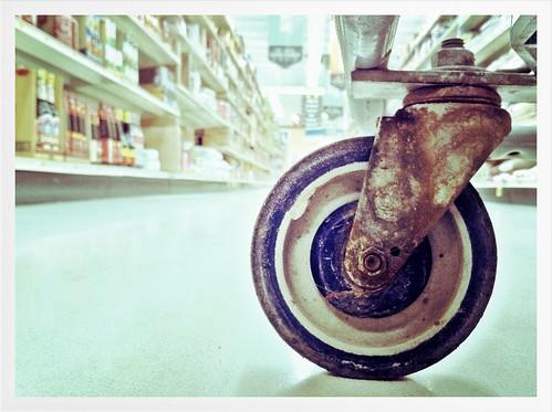 The squeaky wheel (ver. 2) by tjdewey