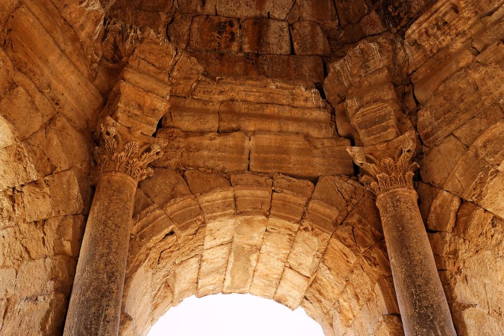 Intérieur du mausolée de Nebi Uri
