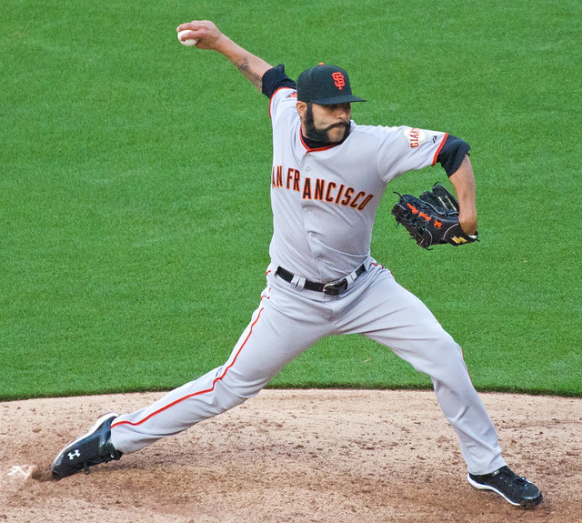 San Francisco Giants Closing Pitcher Sergio Romo