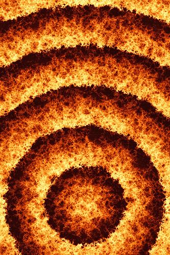 iPhone Wallpaper - Fire